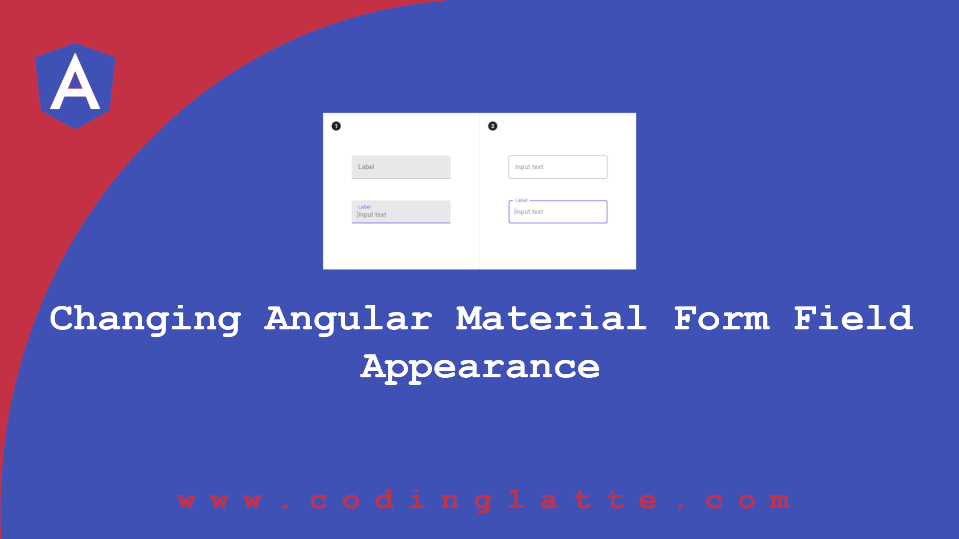 Changing Angular Material Form Field Appearance
