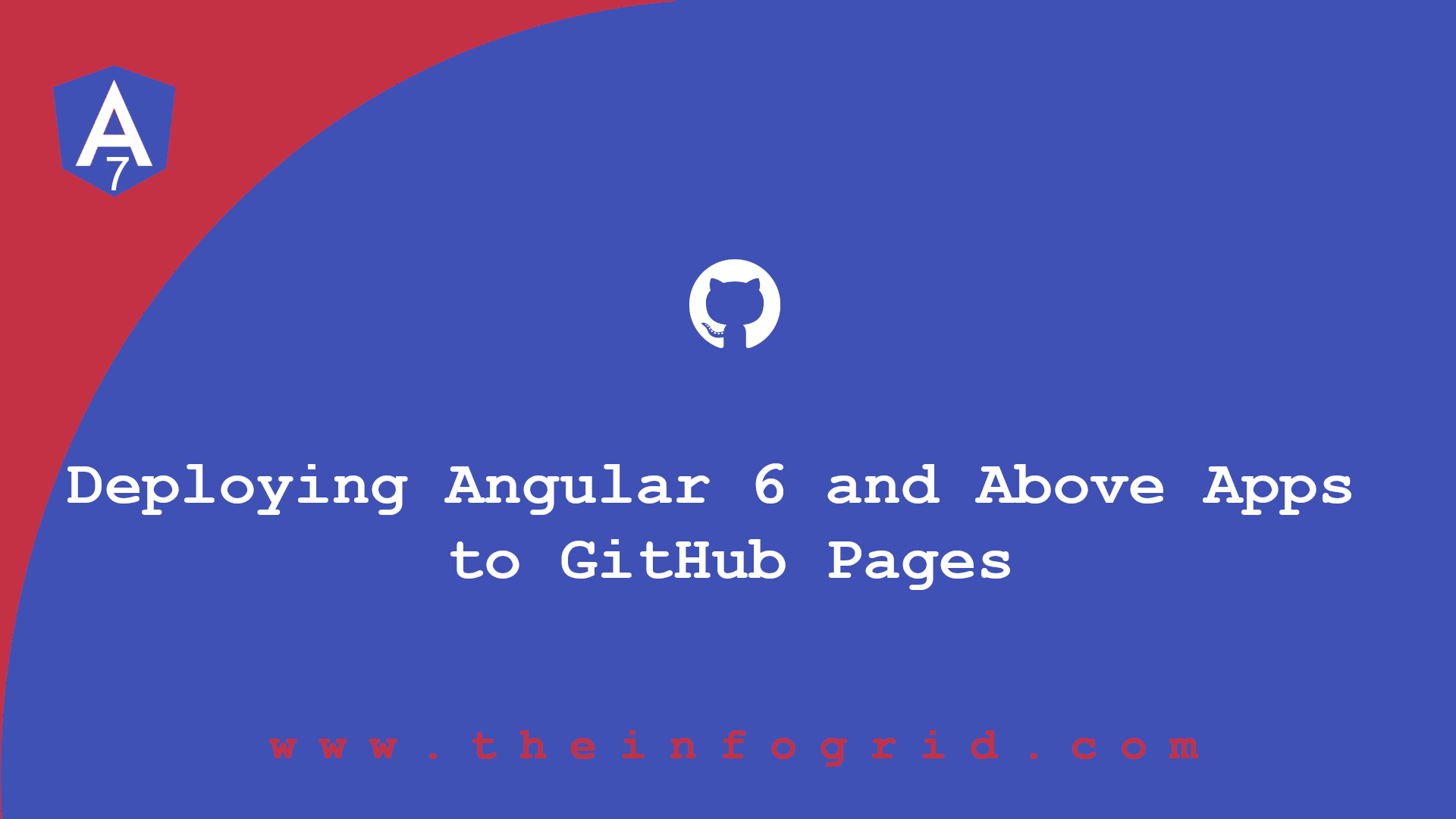Deploying Angular 6 and Above Apps to GitHub Pages