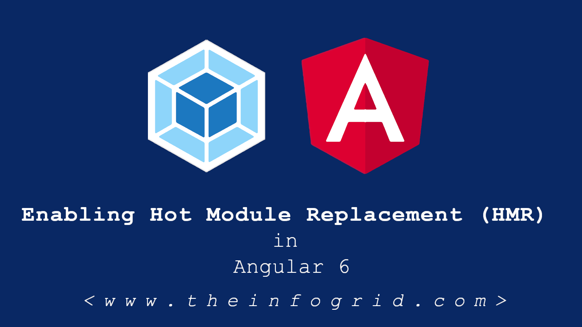 Enabling Hot Module Replacement (HMR) in Angular 6