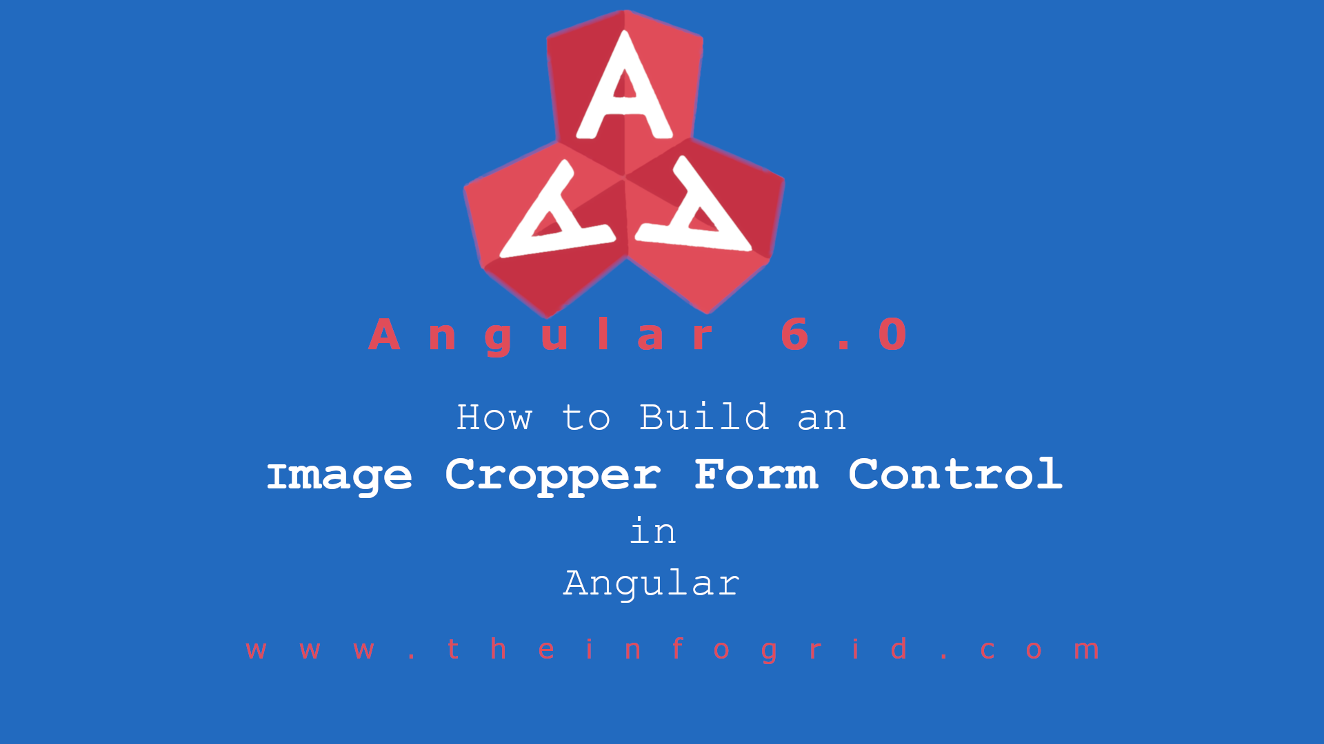How to build an image cropper form control in angular