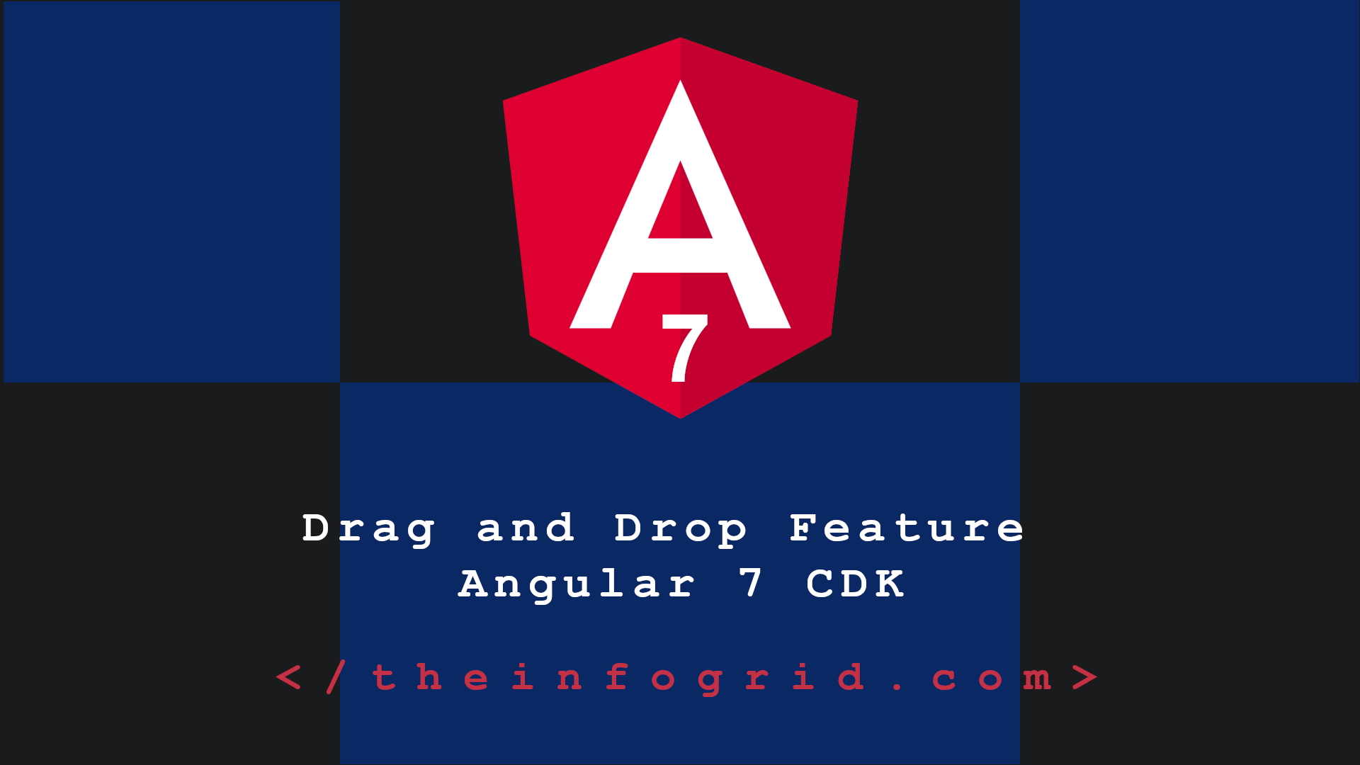 A Closer Look at the Drag and Drop Feature for Angular 7 CDK